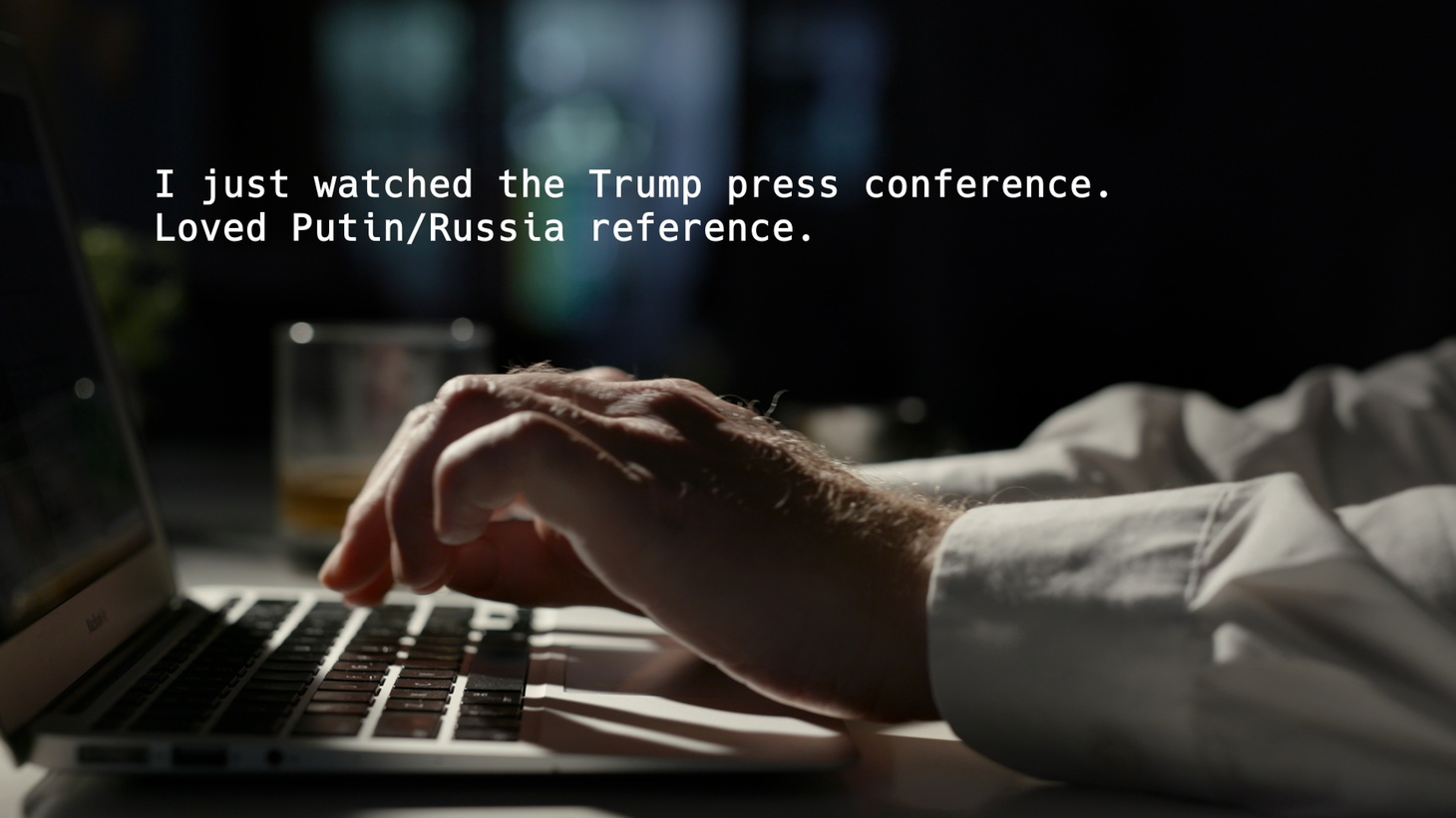 """An email from Felix Sater in """"Agents of Chaos,"""" a documentary about the disinformation campaigns Russia waged during the 2016 U.S. presidential election."""