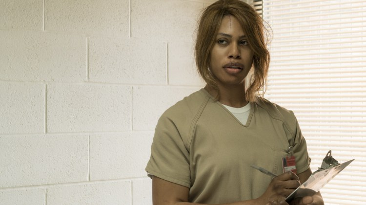 "Laverne Cox has earned her third Emmy nomination for her role as sassy hairdresser and inmate Sophia Burset on Netflix's ""Orange is the New Black."""