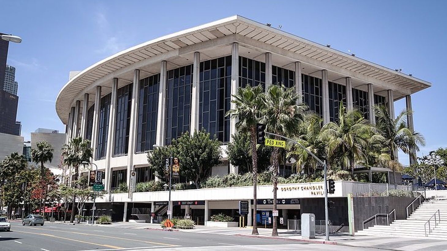 Dorothy Chandler Pavilion, a venue at the Los Angeles Music Center.