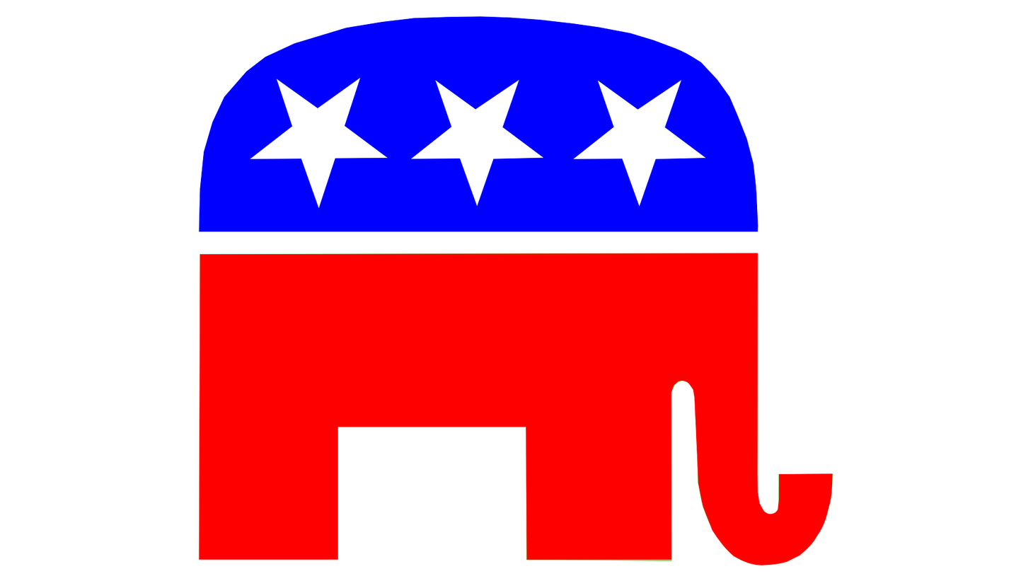 Republican party symbol.