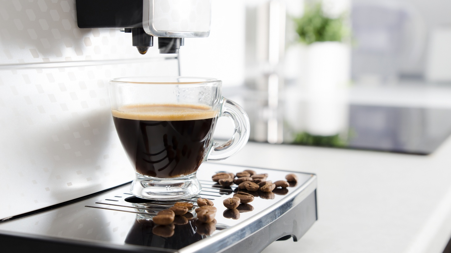 Home espresso machines are selling out online.