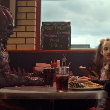 "Critics review ""Psycho Goreman,"" about two suburban kids who find a special gemstone that awakens an ancient, blood-soaked alien overlord, so turn him into their friend; ""Identifying…"