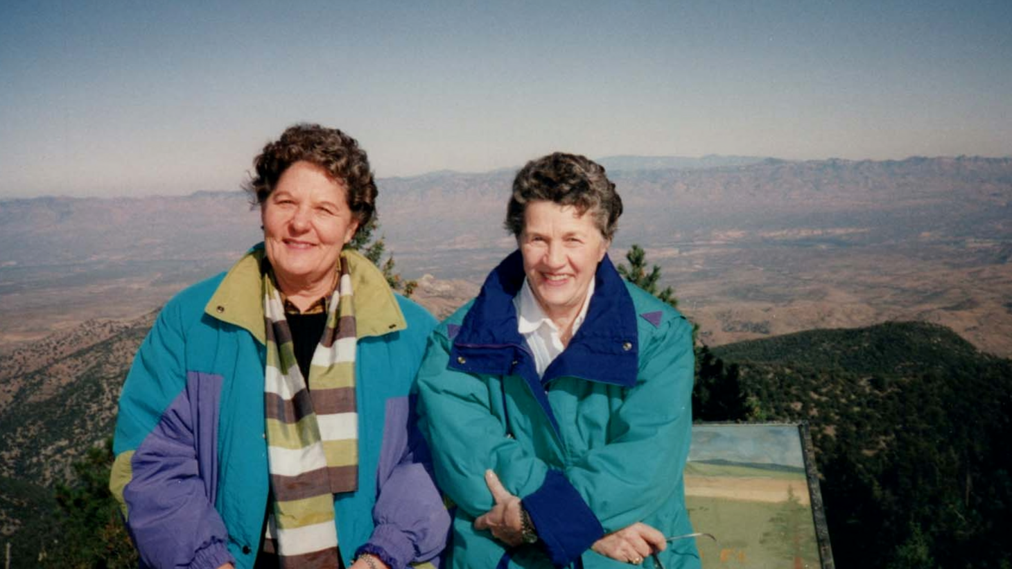 """Terry Donahue and Pat Henschel hid their romantic relationship from their families for decades. They're the subject of a new documentary called """"A Secret Love."""""""