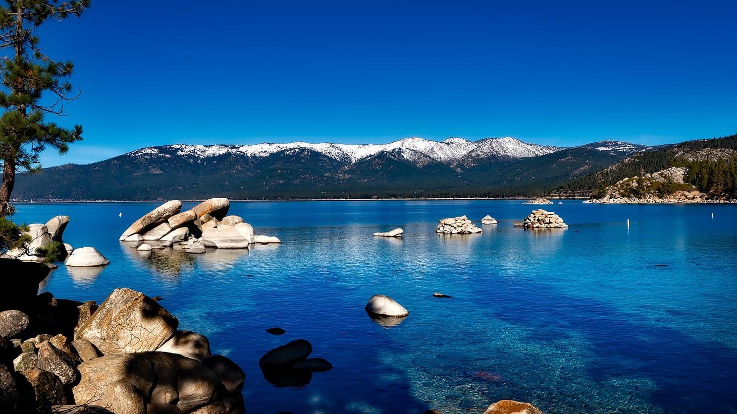 Take Tahoe, California.