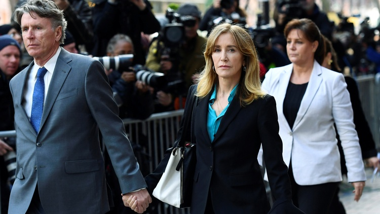 Thirteen parents in the college admissions cheating scandal pled guilty on Monday, including actress Felicity Huffman.