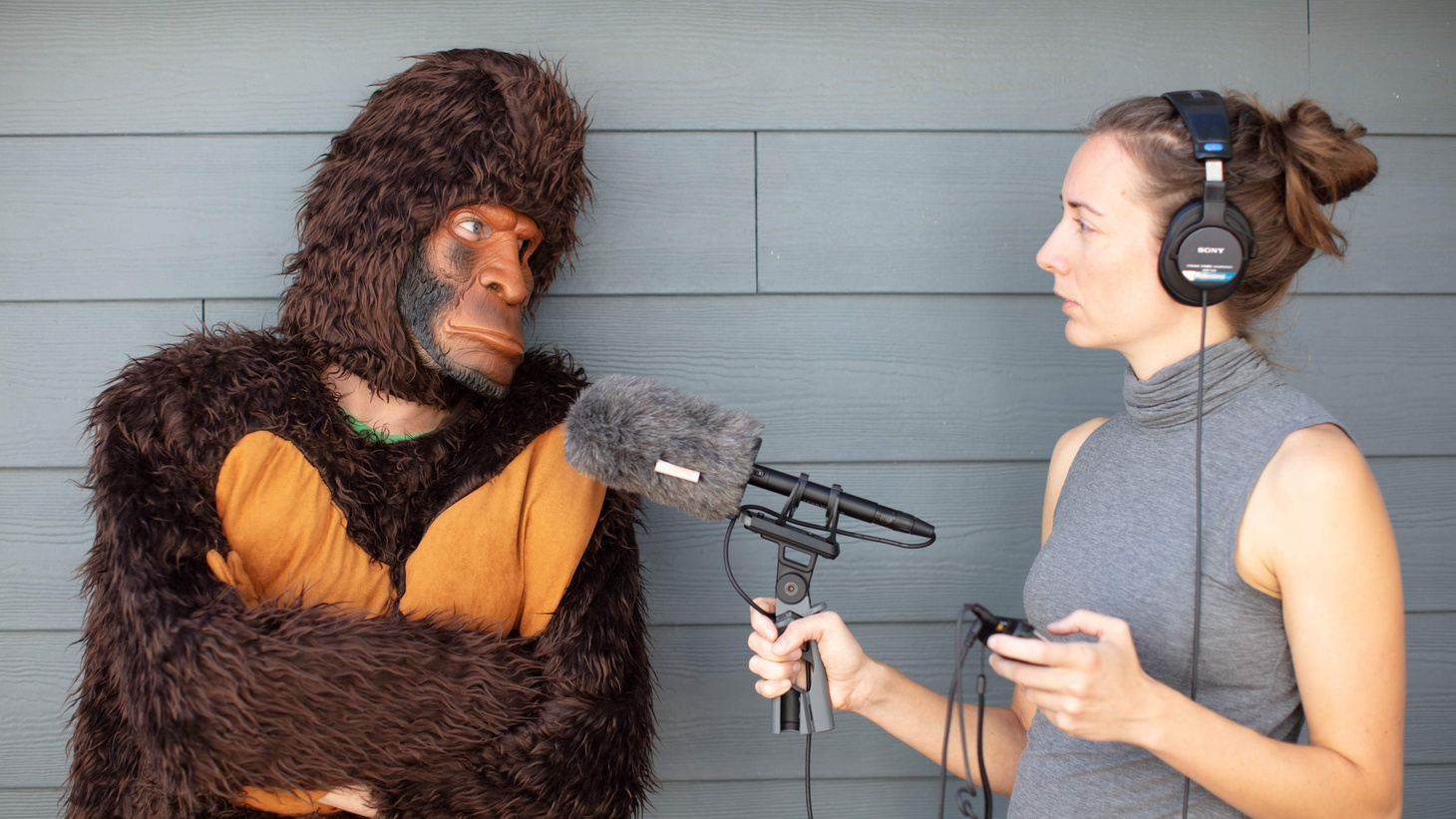 """Laura Krantz spent two years searching for Bigfoot as part of her podcast """"Wild Thing."""""""