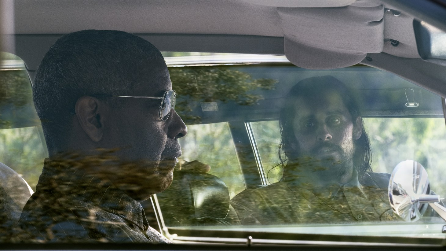 """Denzel Washington as Joe """"Deke"""" Deacon and Jared Leto as Albert Sparma and in """"The Little Things."""""""