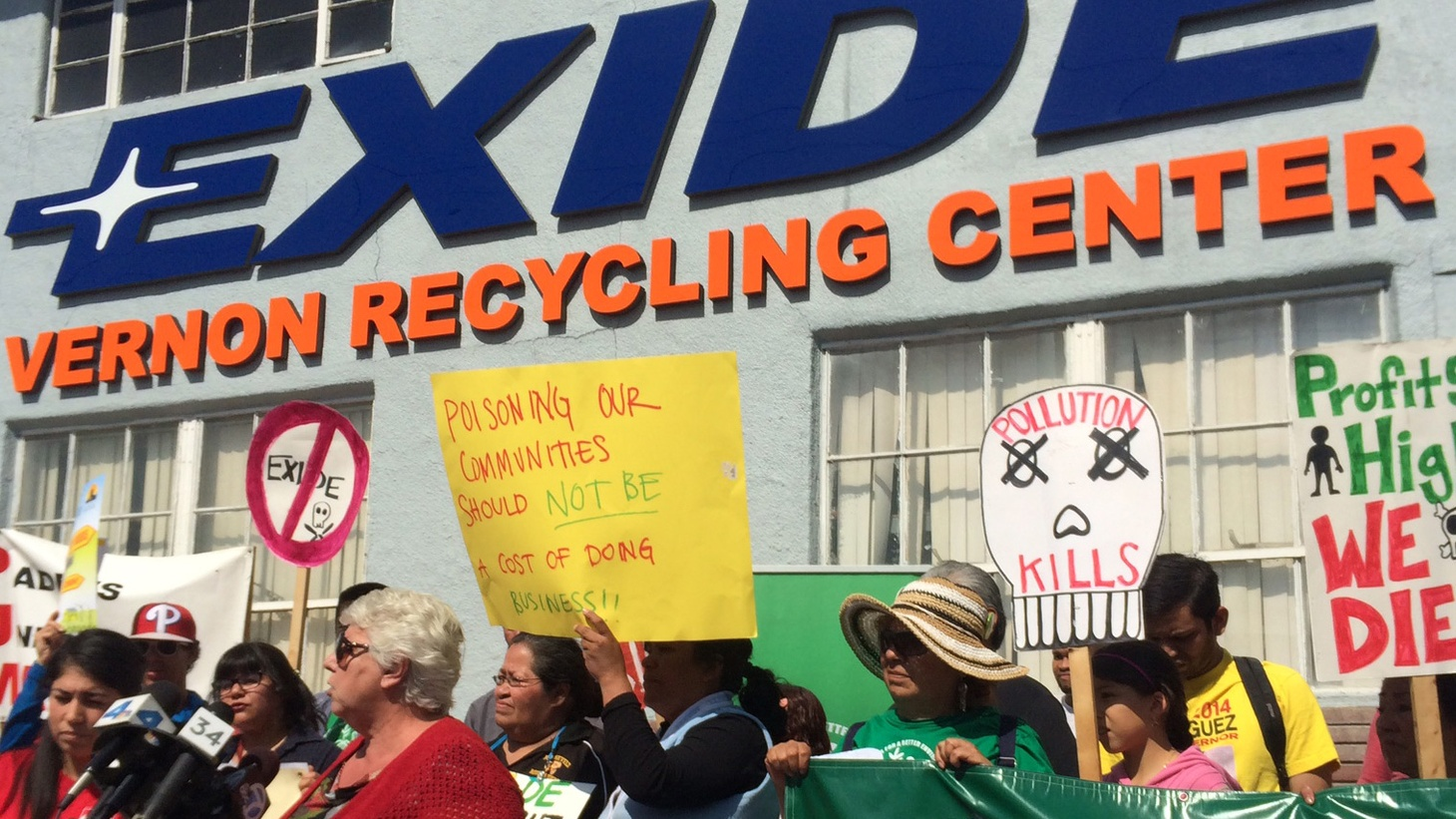 Yesterday, California Gov. Jerry Brown introduced a $177 million plan to test and clean up the areas contaminated by the Exide battery recycling plant. What's going on with residents in those areas in the meantime?