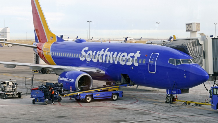 Southwest Airlines has canceled nearly 2500 flights since Friday.