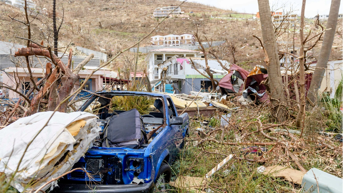 In the wake of Irma, Florida is facing flooded streets and downed trees and power lines. In some parts of the Caribbean, the situation is much worse. Parts of the U.S. Virgin Islands took a direct hit, and people there are struggling to get help. The relief effort is just getting started. We hear from a reporter and a resident evacuated from St. Martin.