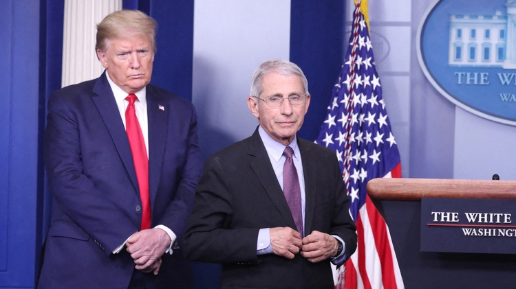 Dr. Anthony Fauci won't quit, despite being sidelined by Trump
