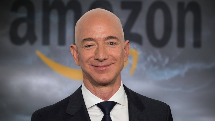 On July 5, Amazon founder Jeff Bezos will step down as CEO but remain the company's executive chairman.