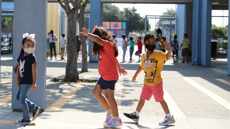 LAUSD's fall semester began two weeks ago with mandatory, weekly COVID testing for around half a million teachers, staff and students.