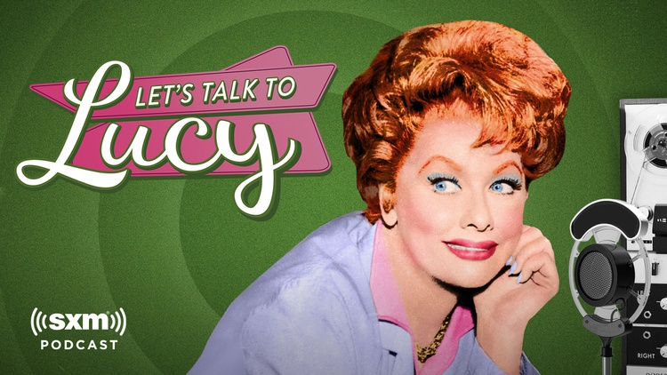 """Lucille Ball made her name on TV, but she also had a radio show called """"Let's Talk to Lucy."""" A trove of old reel-to-reel tapes has been pulled from her archives."""