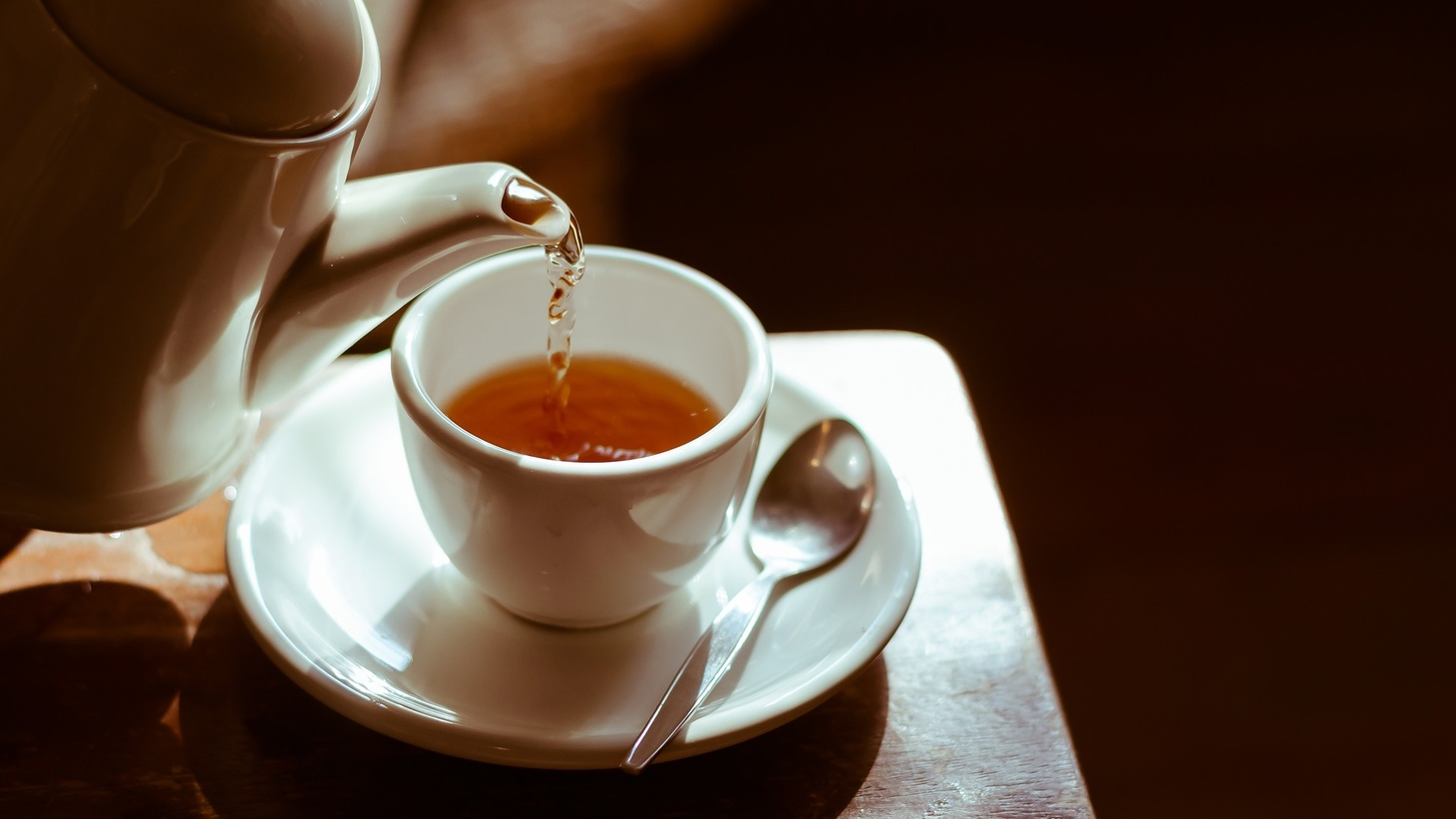 Get out of bed and drink tea if you feel sick in the morning, says Dr. Michael Wilkes.