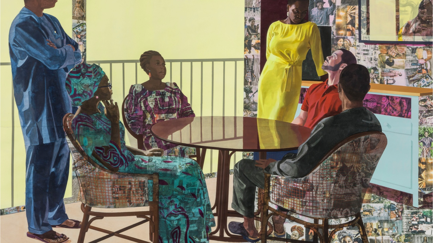 Njideka Akunyili Crosby is one of the most sought-after young painters in the art world right now. She won a Macarthur Genius grant. Her paintings sell for millions of dollars to private collectors and museums like LACMA and the Whitney.