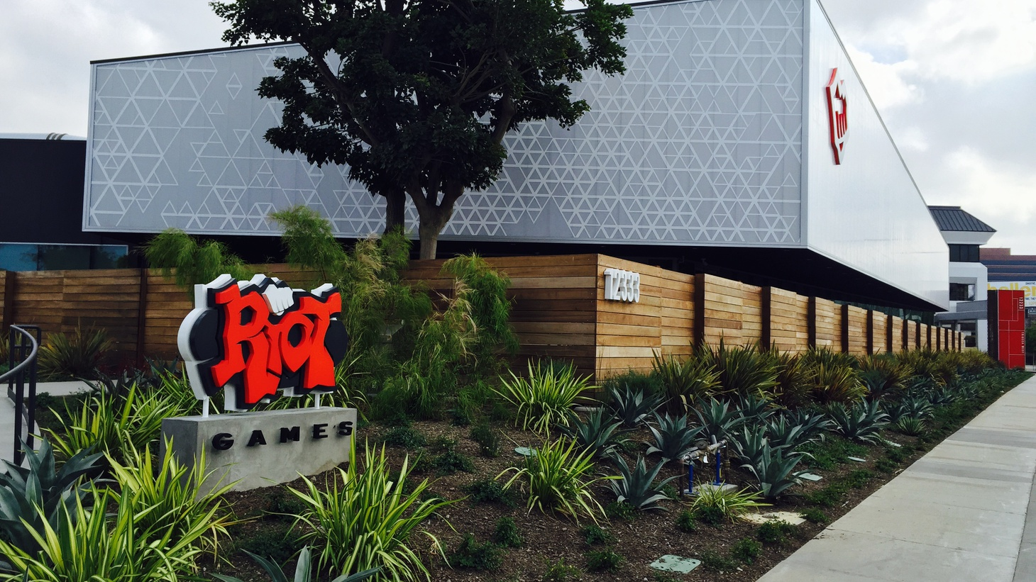 Riot Games headquarters in West Los Angeles.