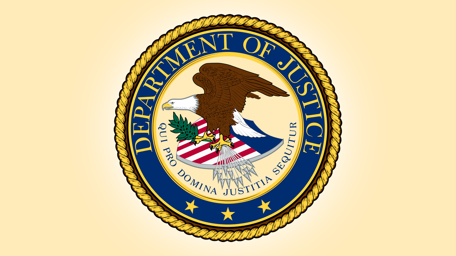 Seal of the U.S. Department of Justice.