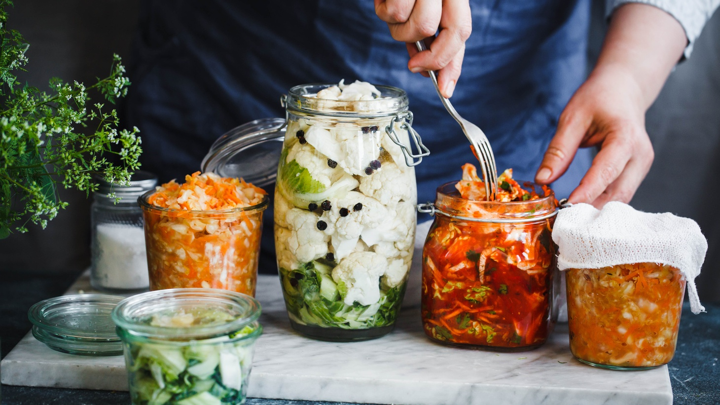The process of pickling and fermentation can transform a vegetable's taste, says KCRW's Evan Kleiman.