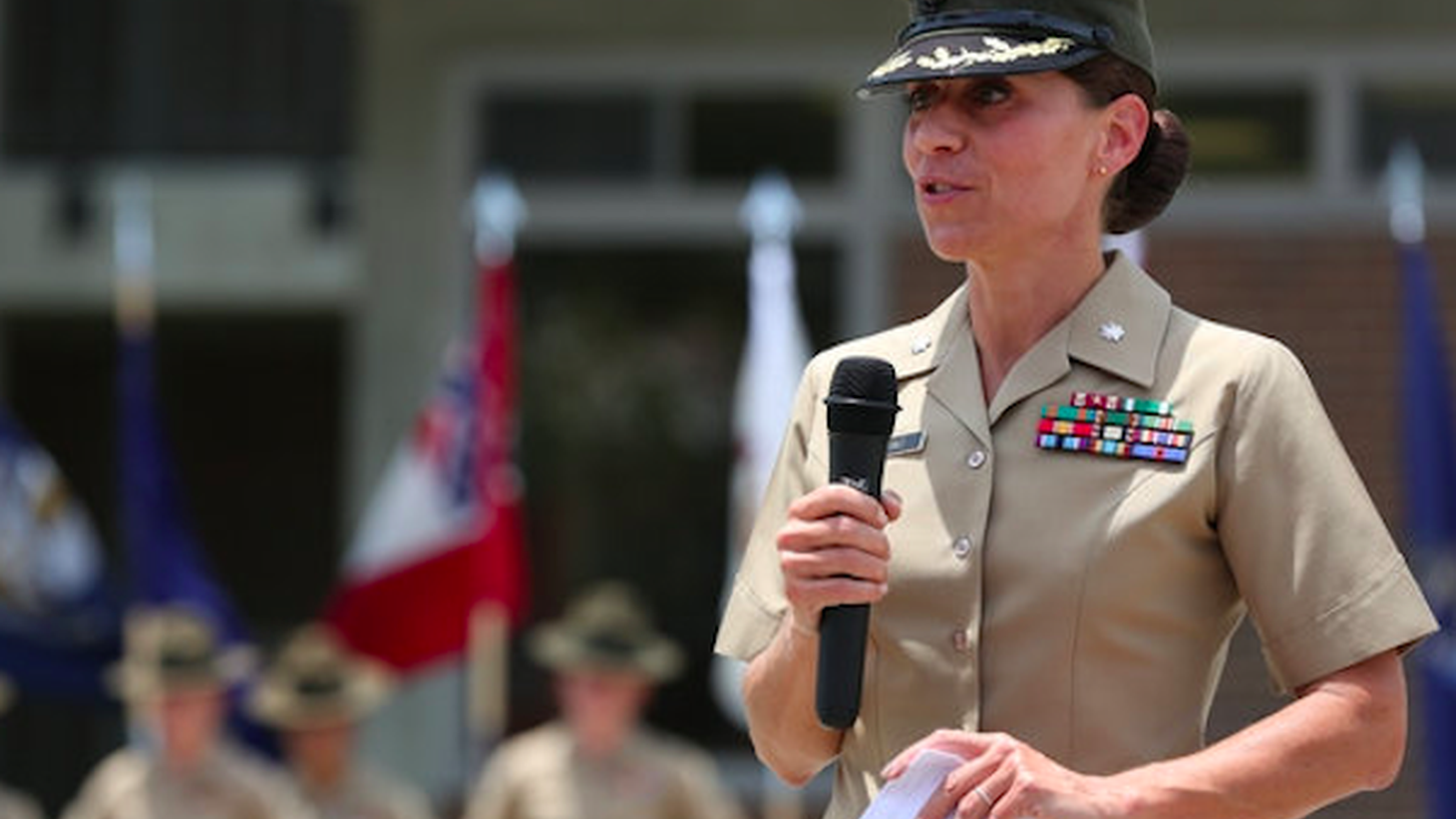 Former Marines officer Kate Germano led the military's only all-female recruit battalion. In one year, she turned a demoralized and underperforming group of women into qualified Marines. Then she got fired.