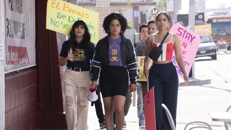 """Gentefied"" follows three cousins and their immigrant grandfather who try to save the family's taqueria as gentrification creeps in. We speak to the Latinx creators of the show."