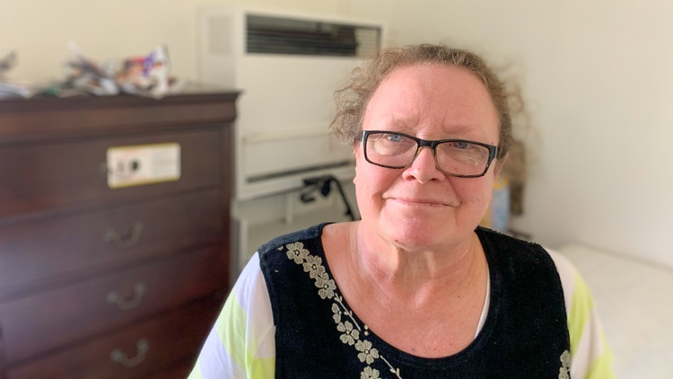 """KCRW ran a four-part series called """"Samaritans"""" last year, in which reporter Anna Scott followed Christine Curtiss, who had been living on the streets in Mid City for about eight…"""