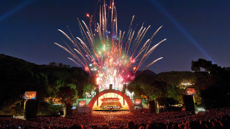 Hollywood Bowl shows in May and June will be socially distanced, then in July, capacity will likely expand to 67% of the venue's 17,500 seats, says LA Phil CEO Chad Smith.