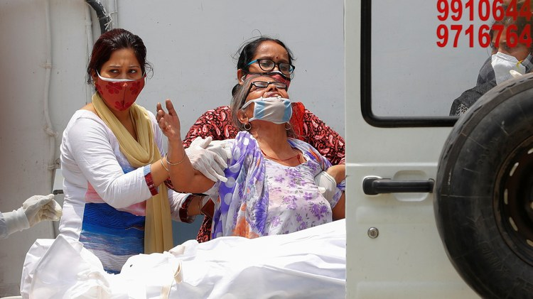 On Tuesday, India reached a new COVID-19 death toll. In just one day, more than 4,000 people died, bringing the country's total death toll to more than 250,000.