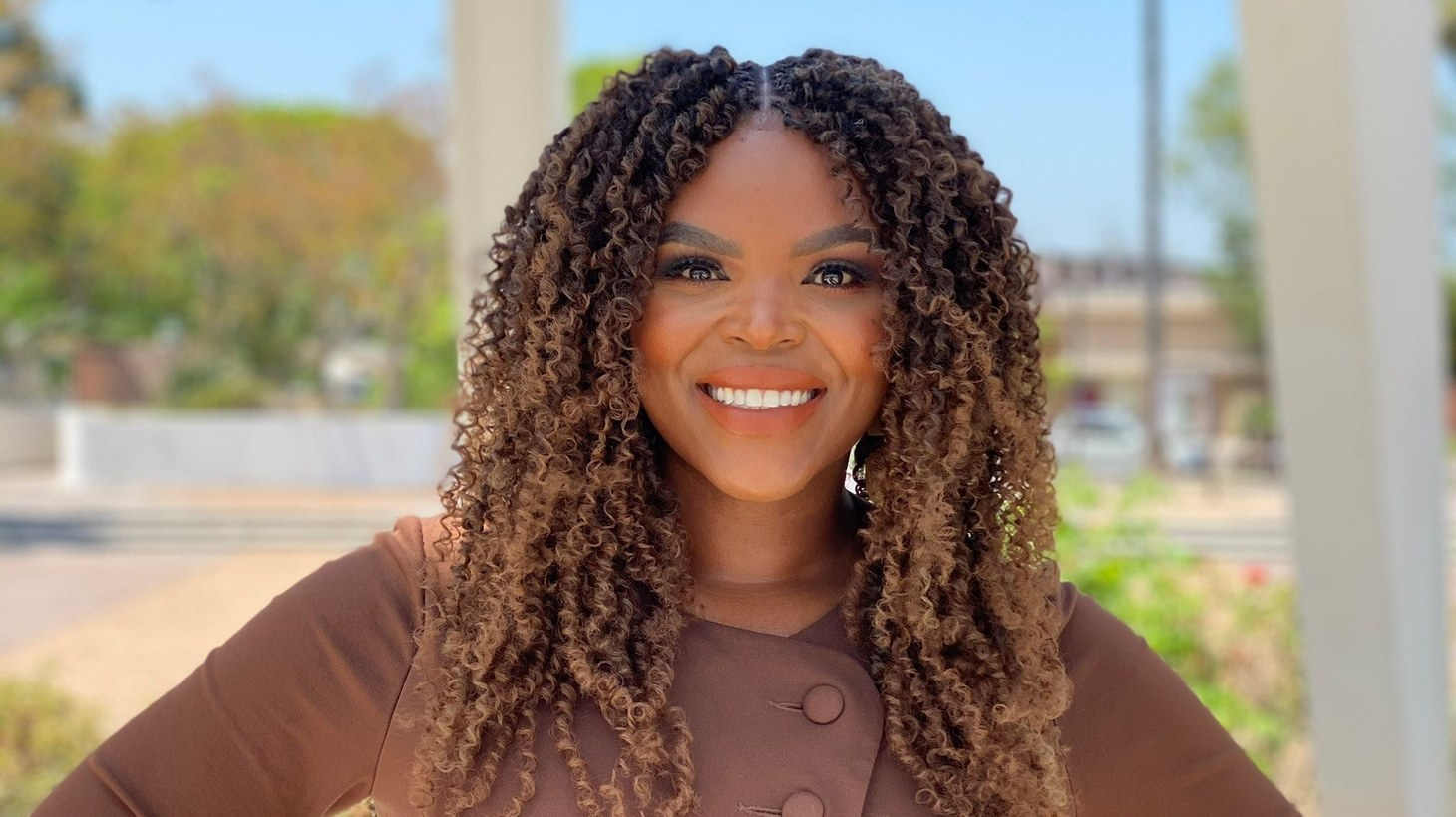 """""""There's empirical data from other guaranteed income pilots across the nation over the last two years that really underscore that people are making the smart decisions and the best decisions for their family with this additional income,"""" says Compton Mayor Aja Brown."""