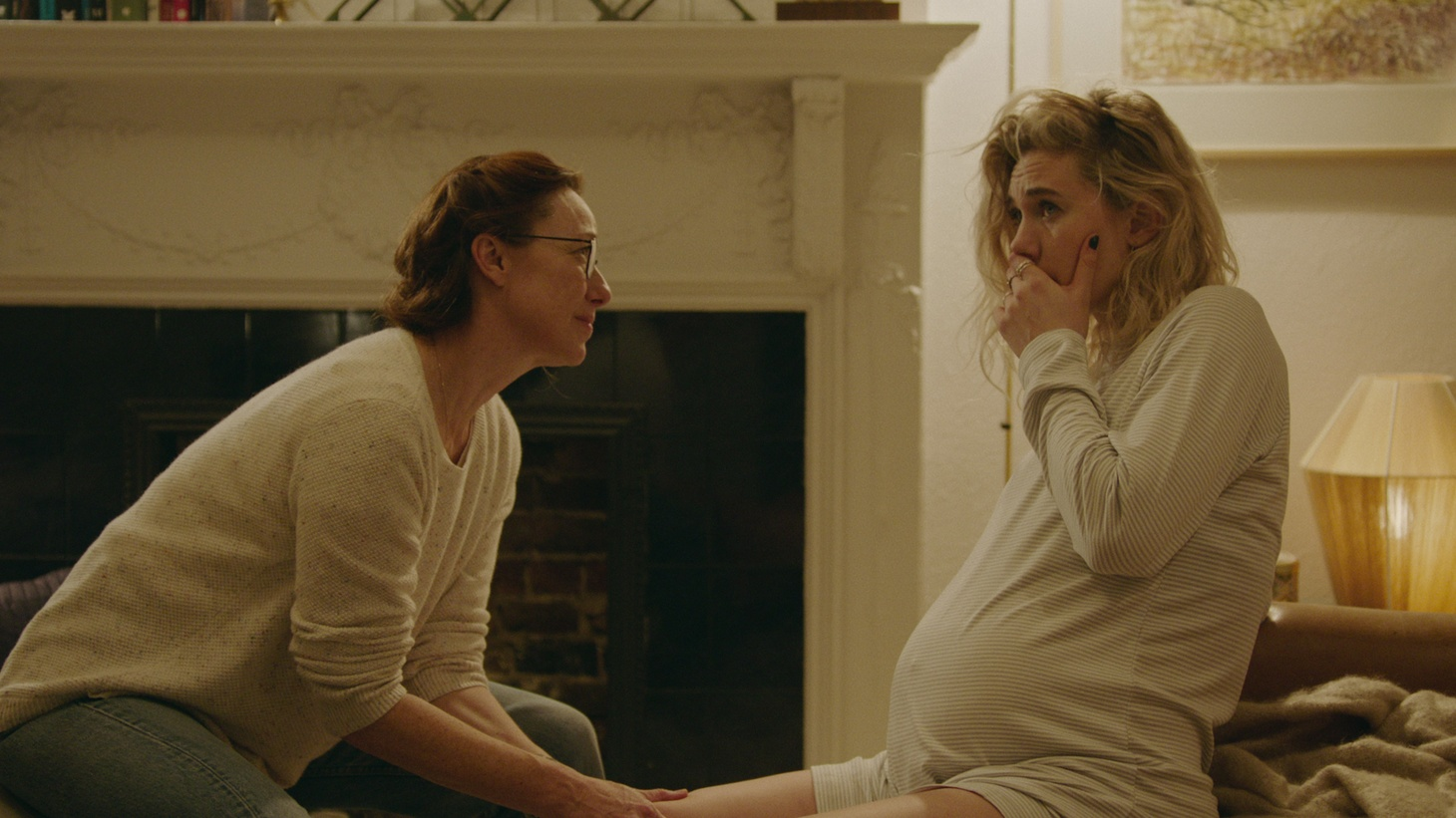 """(L to R) Molly Parker as Eva and Vanessa Kirby as Martha in """"Pieces of a Woman."""""""