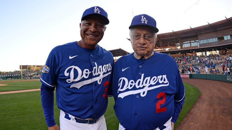 """Tommy Lasorda died on Thursday at age 93. """"In an 11-year period, he takes the Dodgers to four World Series, and they win two of them."""