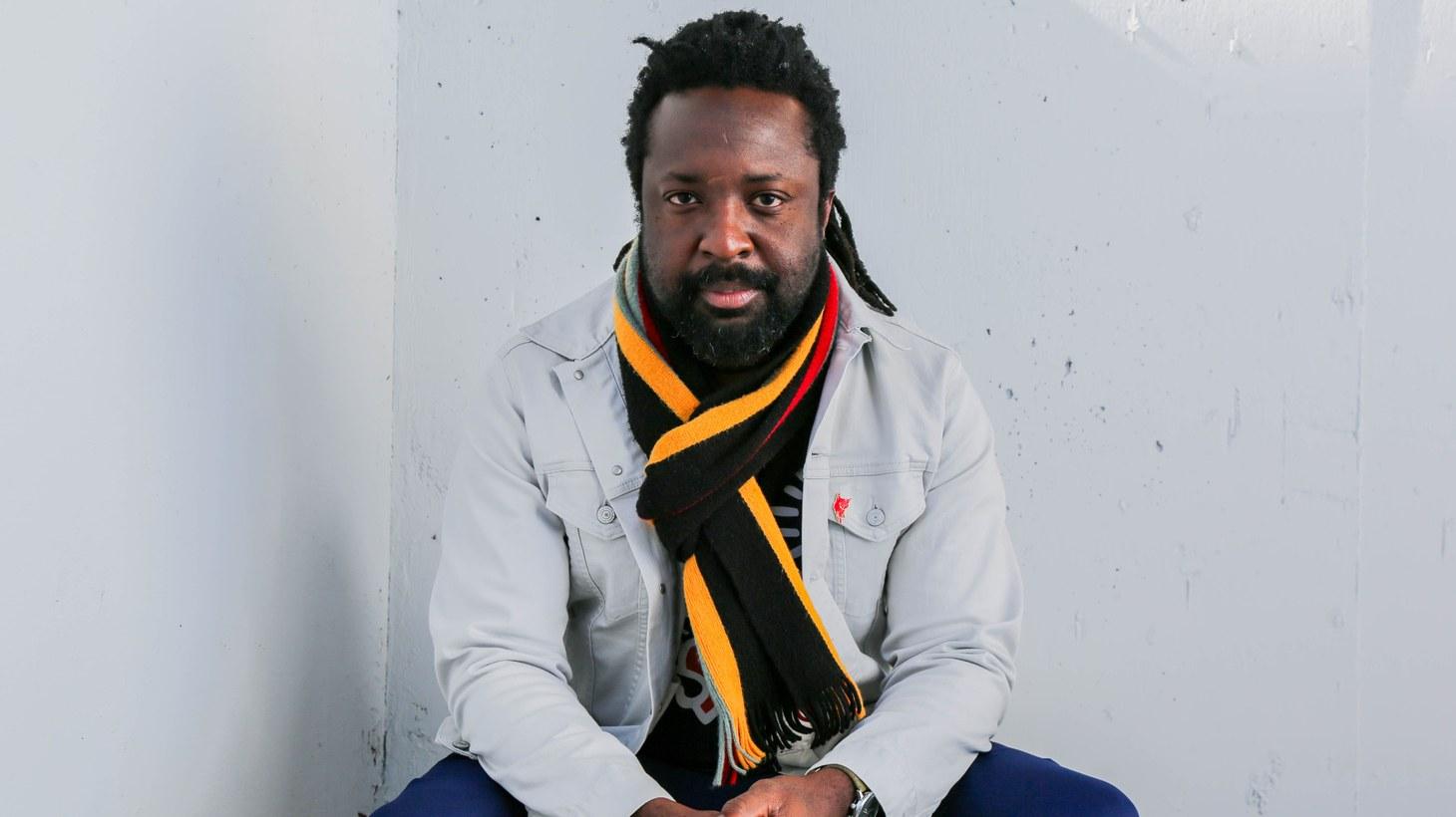 Author Marlon James.