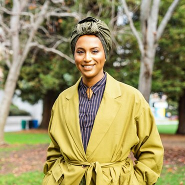 Honey Mahogany says she sees her election as a counter to the current political divisiveness and an example of the inclusivity that the Democratic Party represents.