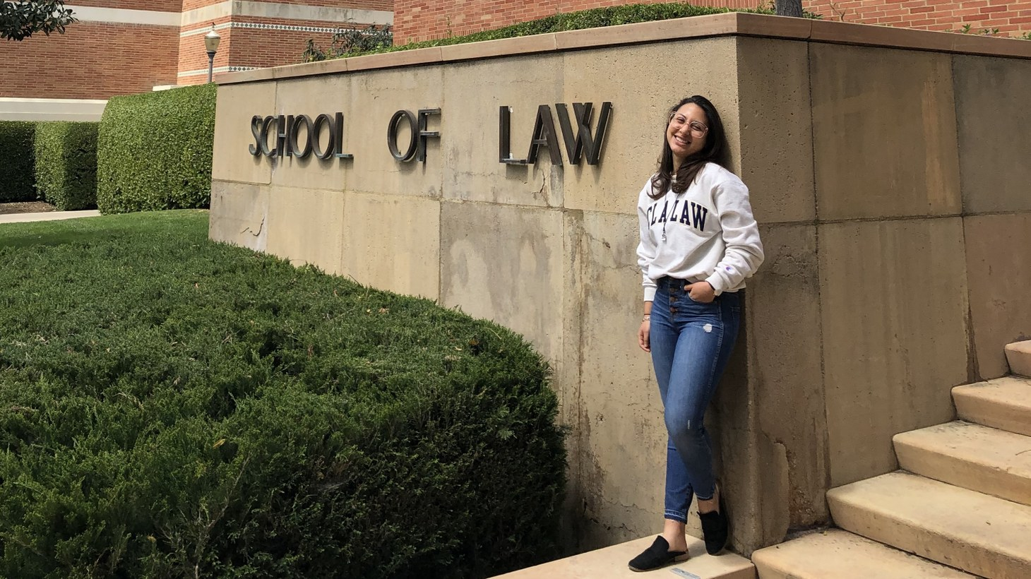 Sonni Waknin graduated from UCLA Law on May 15. She live-streamed her graduation ceremony at home with her family, and friends sent her cupcakes and pies.