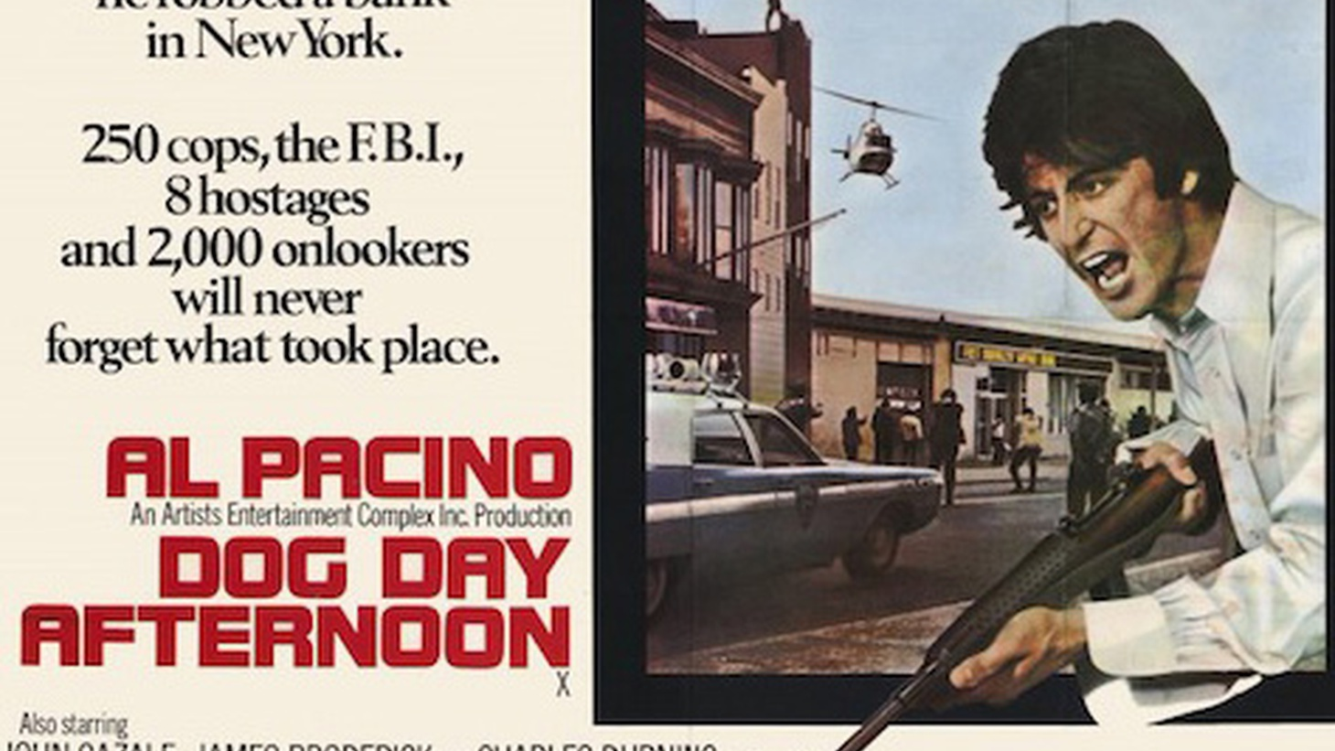 "A new documentary tells the story of the outrageous real life bank robber that inspired Al Pacino's character in the movie ""Dog Day Afternoon."" Also, did Russian hackers pull off the biggest hack ever? Should we be freaking out? And more..."