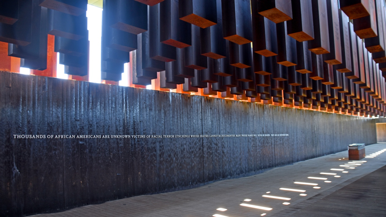 The National Memorial for Peace and Justice in Montgomery, Ala.