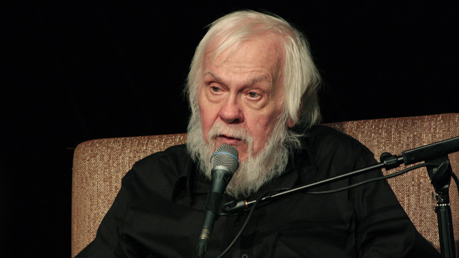 John Baldessari in Moscow, 2013.