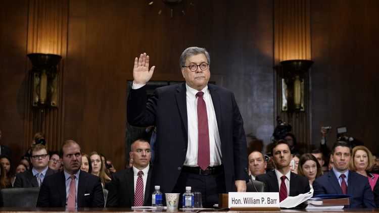 Attorney General William Barr testified in front of the Senate Judiciary Committee today.