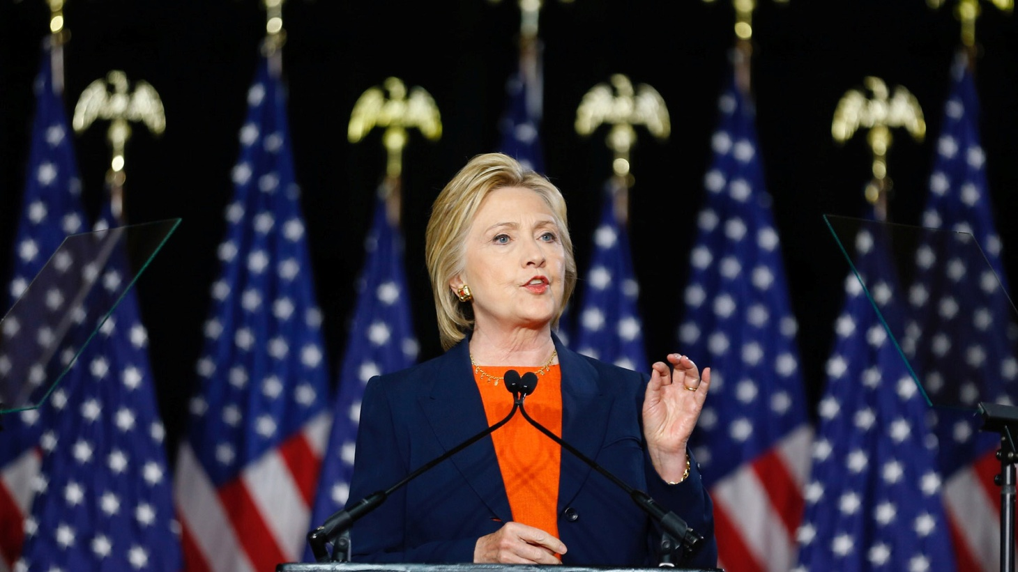 Hillary Clinton made a forceful case in a foreign policy speech Thursday that Donald Trump is more than unqualified to be Commander in Chief, calling his foreign policy platform 'dangerously incoherent'.