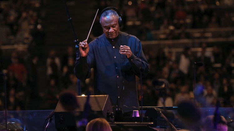 The summer concert series at the Hollywood Bowl kicked off this weekend. Thomas Wilkins is the Principal Conductor of the Hollywood Bowl Orchestra.