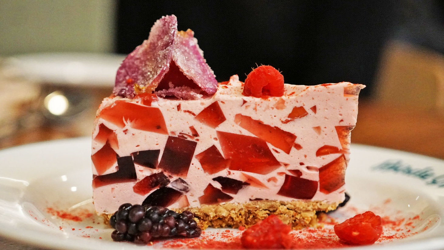 Rose Petal Pie from Birdie G's, a Santa Monica restaurant that will be participating in the online bake sale.