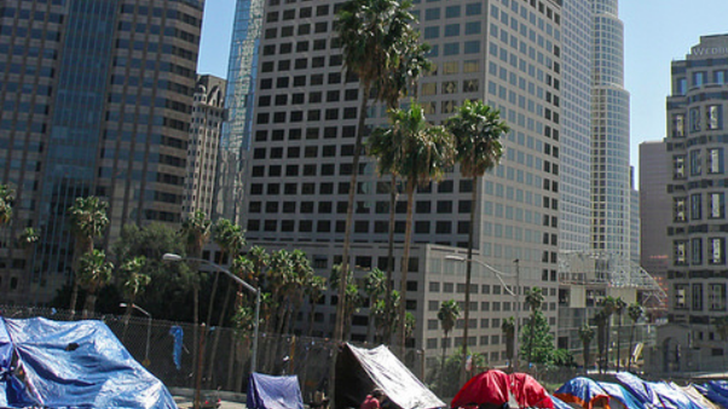 Homelessness in LA County dropped 3 percent from last year. Sounds like good news for Mayor Eric Garcetti, who wants to end homelessness by year 2028.
