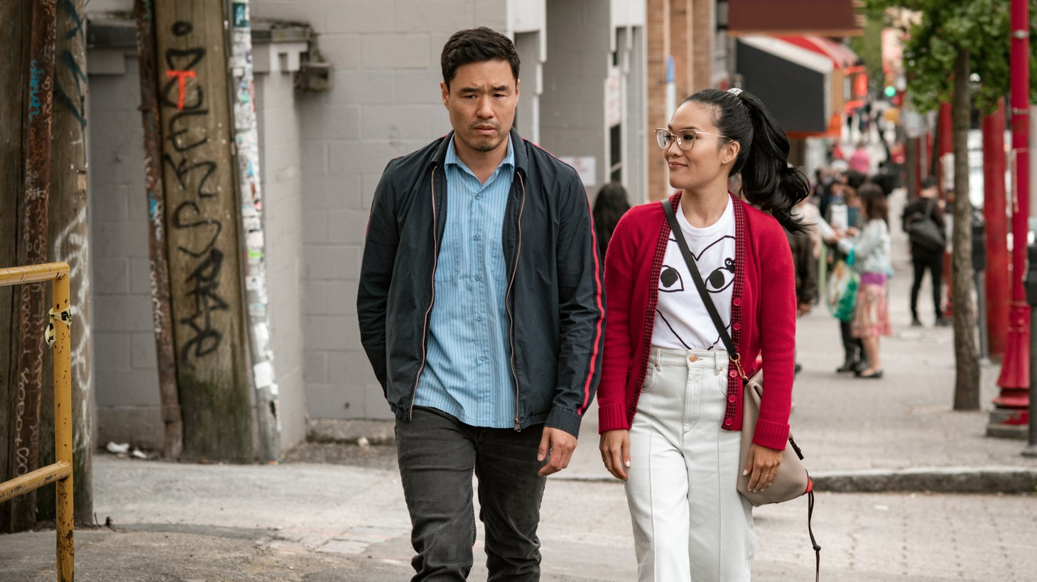 "Ali Wong and Randall Park in ""Always Be My Maybe."""