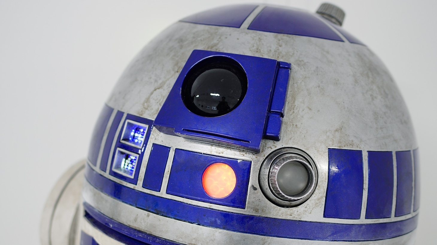 "R2D2 in ""Star Wars."""