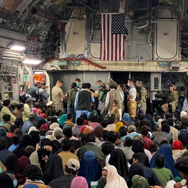 About 64,000 evacuees from Afghanistan have arrived in the U.S., as of this week. Most of them are on eight military bases awaiting resettlement.
