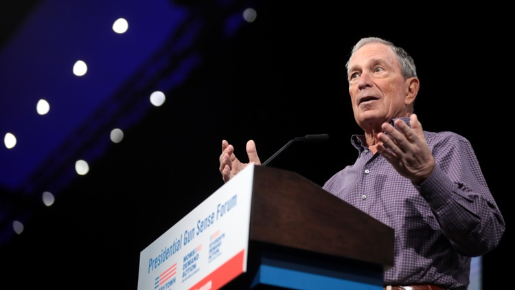 There's another New York billionaire in the 2020 presidential race. Former New York City mayor and media mogul Michael Bloomberg officially joined the contest on Sunday.