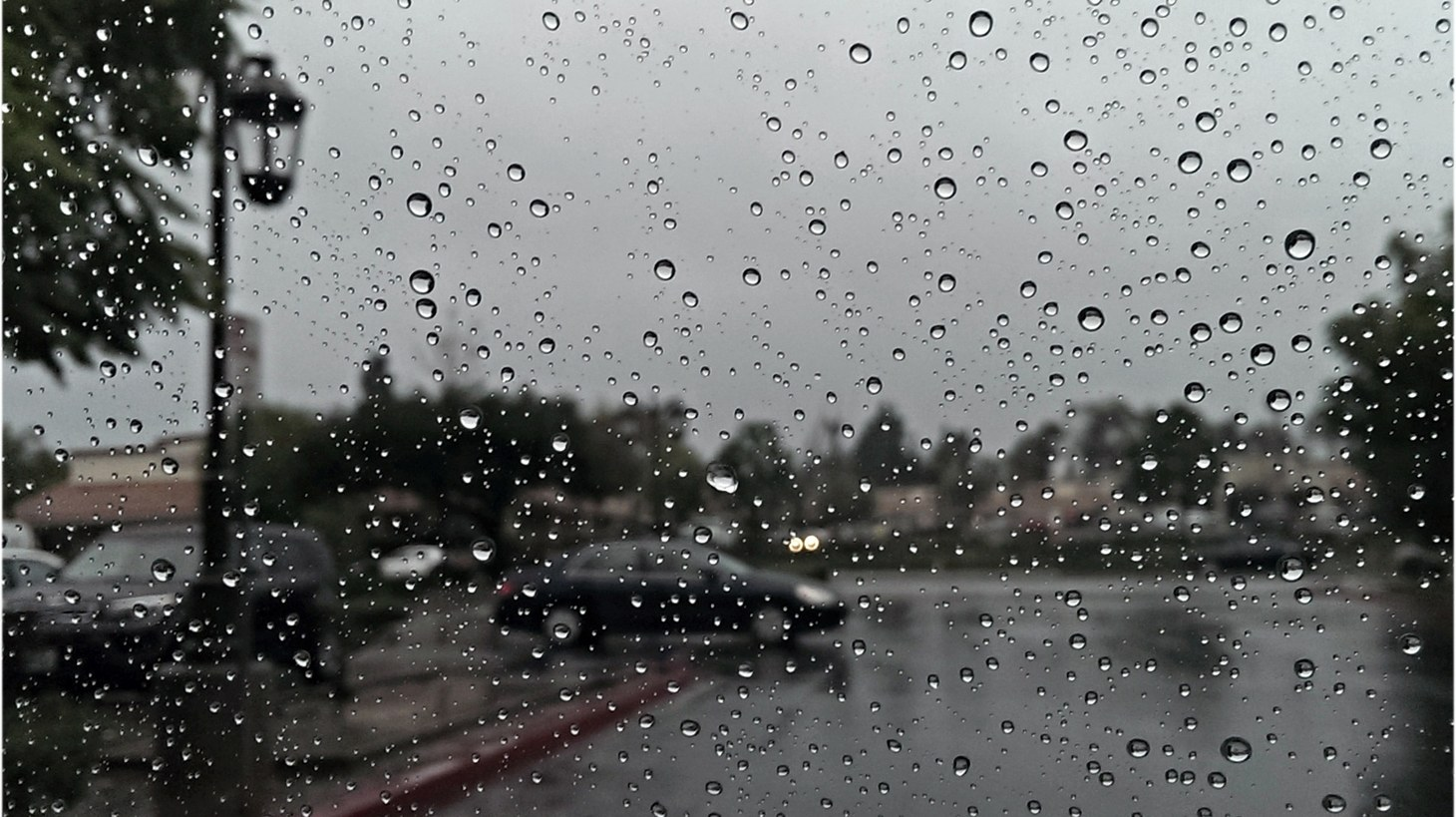 Southern California downpour.