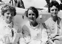 How 'Fly Girls' sought to beat the fastest men in air races