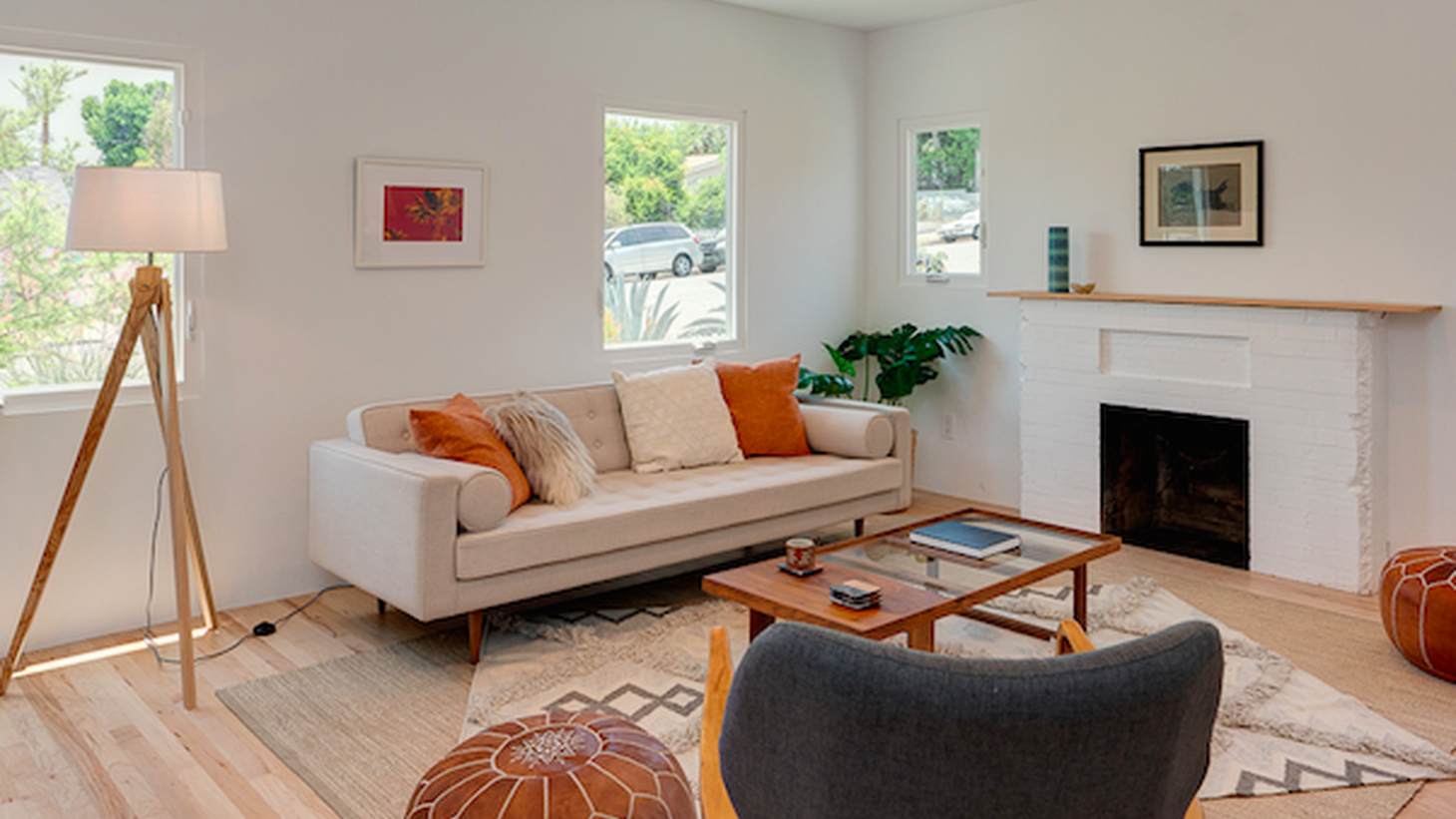 The median home price in LA surpassed $600,000 for the first time this year. Prices are fueled by big market forces, but today we're looking at one little factor juicing the stats: home staging.
