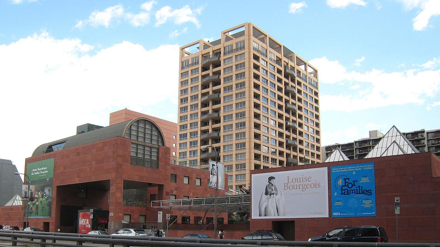 Museum of Contemporary Art (MOCA) in downtown Los Angeles, California.